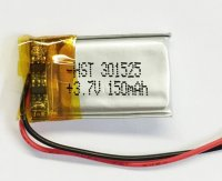 Lithium Ion Battery 3.7v 150mAh