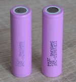 SAMSUNG LION Rechargeable Battery 2600mAh ICR18650
