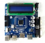 LPC1768 CORTEX M3 NXP Development Board