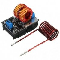 5-12V ZVS Low Voltage Induction Heating Tesla coil 120W