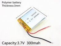 Lithium Ion Battery 3.7v 300mAh