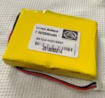 lithium ion battery 7.4v 2000mAh