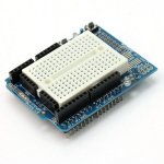Prototype Shield V.5 For Arduino With Mini Breadboard