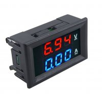Digital Voltmeter And Ammeter