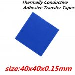 Thermally Conductive Adhesive Heat Transfer Tape 40x40mm