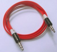 Aux Cable - Red Color