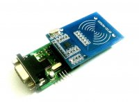 Contactless Smart Card Reader/Writer 13.56MHz Serial and TTL